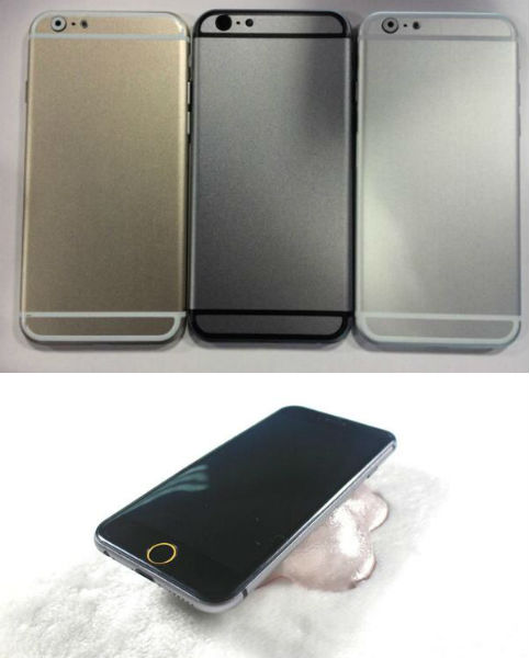 These could be iPhone 6 dummy units (pictures by Sonny Dickinson)