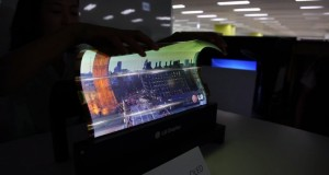LG flexible OLED panel