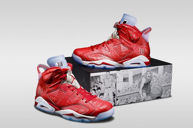 Slam Dunk X Nike Air Jordan VI
