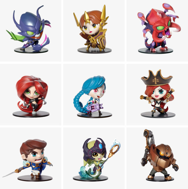 These League Of Legends Figures Are Ridiculously Cute