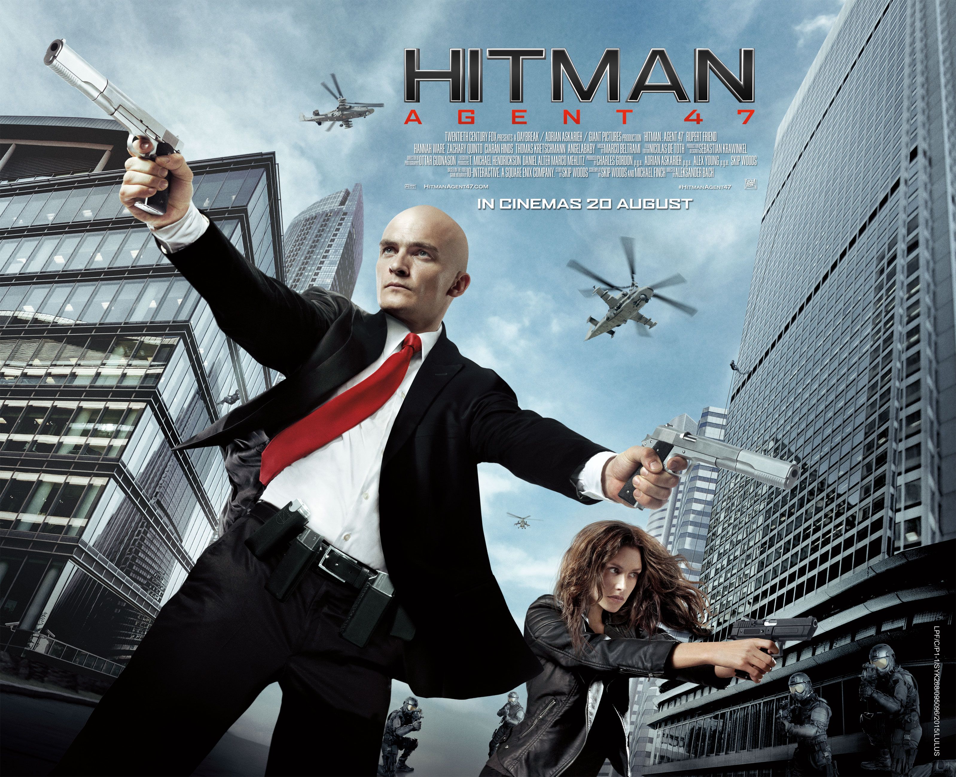 Hitman Agent 47 Review Dumb Fun Action B Movie