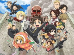 Attack on Titan Junior High Anime Visual