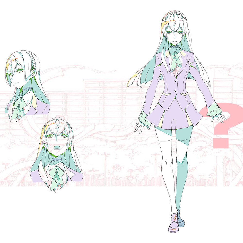 Character Design Book 2015 : Kiznaiver gets an update visual and characters revealed