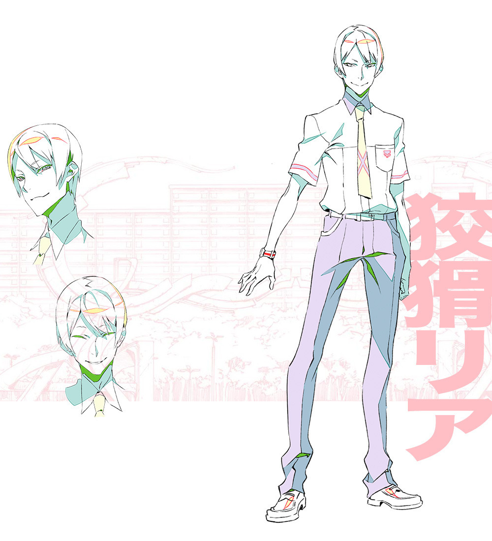 Anime Character Design Competition : Kiznaiver gets an update visual and characters revealed