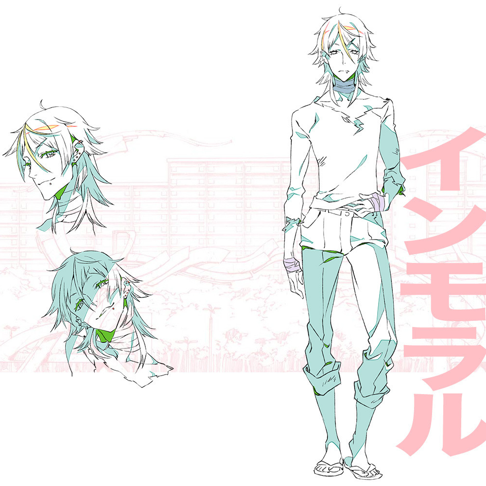 Character Design Studio : Kiznaiver gets an update visual and characters revealed