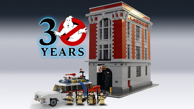 Lego Firehouse HQ