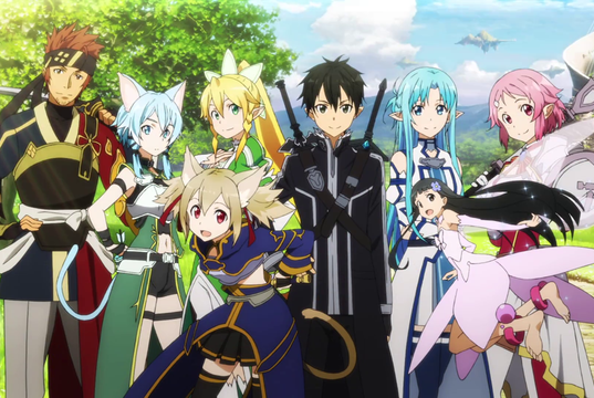 The harem of Kirito, hero of SAO