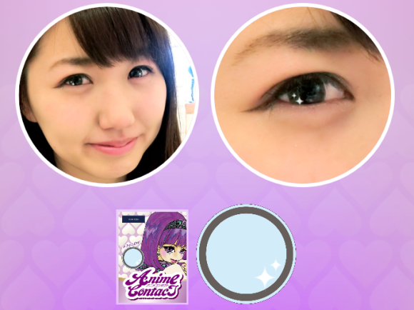 these anime contacts will put a sparkle in your eye