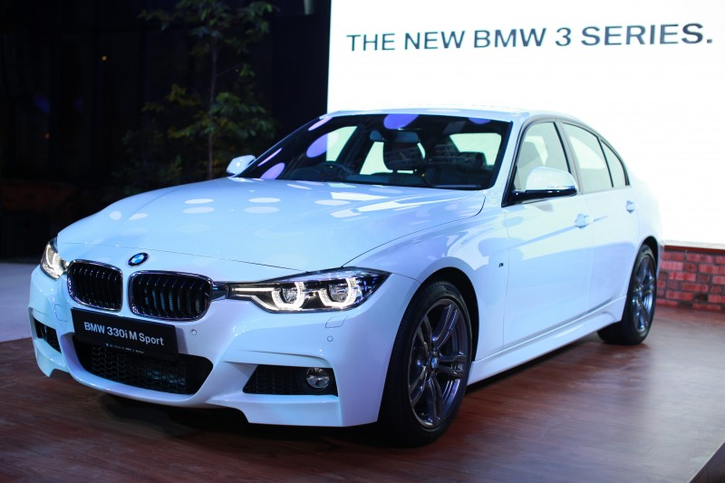 BMW Launches The New BMW Series Cars - Bmw 3 sport