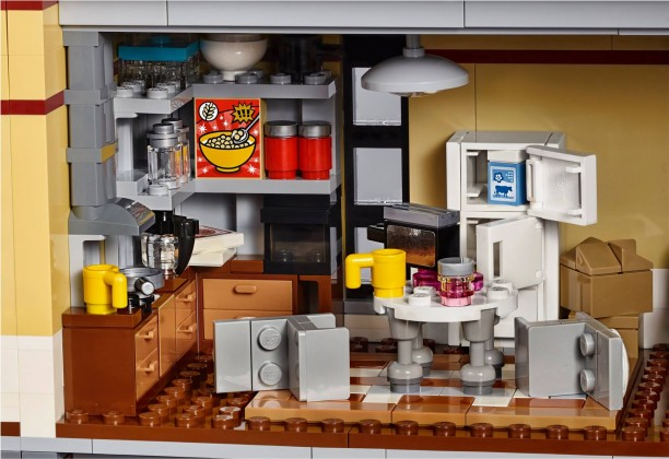 Lego Ghostbusters firehouse kitchen 2