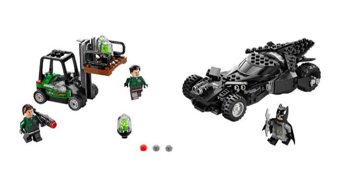 Batman VS Superman Lego Kryptonite interceptor set