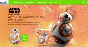 Maxis Star Wars Sphero BB-8 Contest