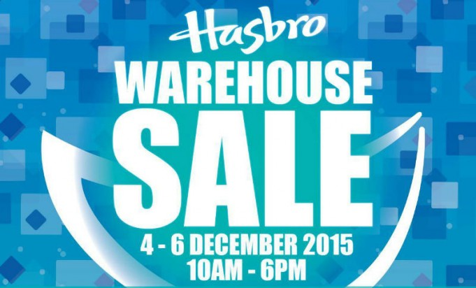hasbro warehouse sale