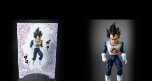 Vegeta crying figure Bandai