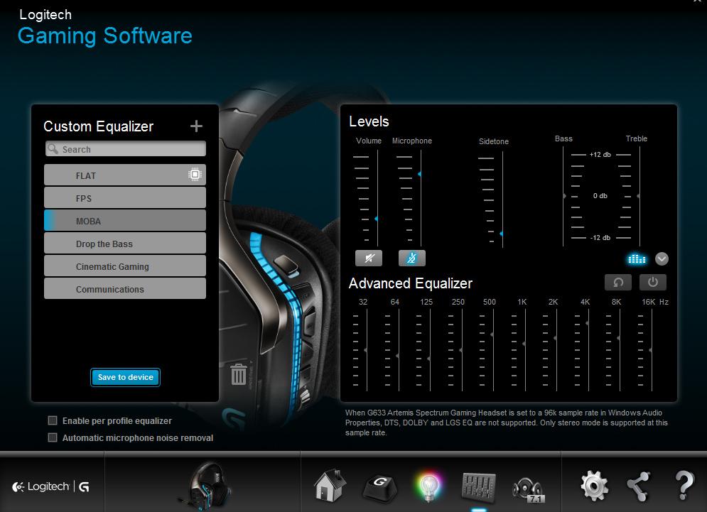 logitech G-headset2