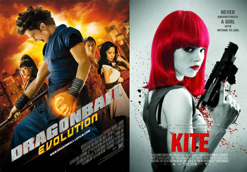 Dragonball and Kite live action