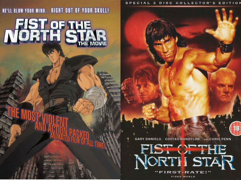 Fist of the north star live and anime