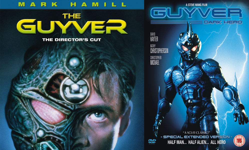 Guyver live action movies