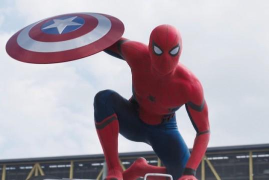 Captain America Civil War Spider-man