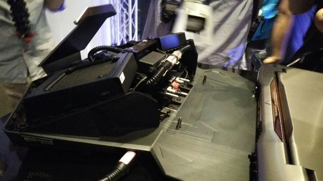 ASUS ROG GX700 cooling