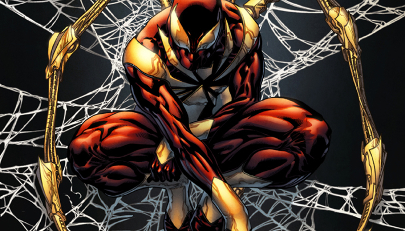 Marvel Civil War 1 Iron Spider