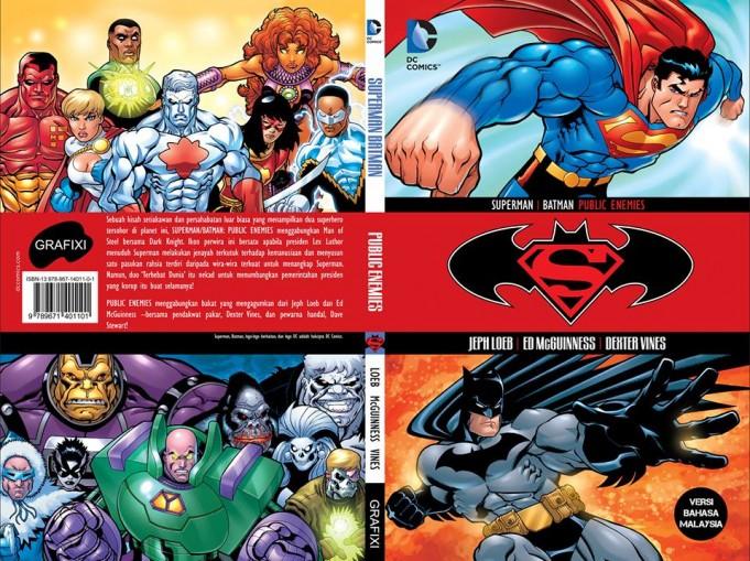 DC Comics in Malay