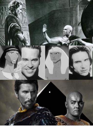 Moses-Rameses casts