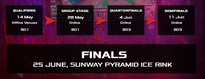 ROG Champions Cup schedule 2016