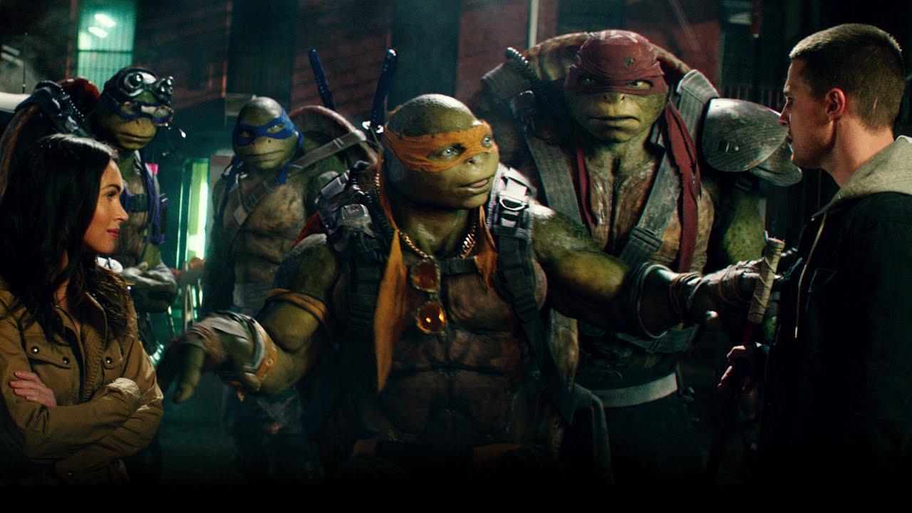 Teenage Mutant Ninja Turtles 2 2016 April