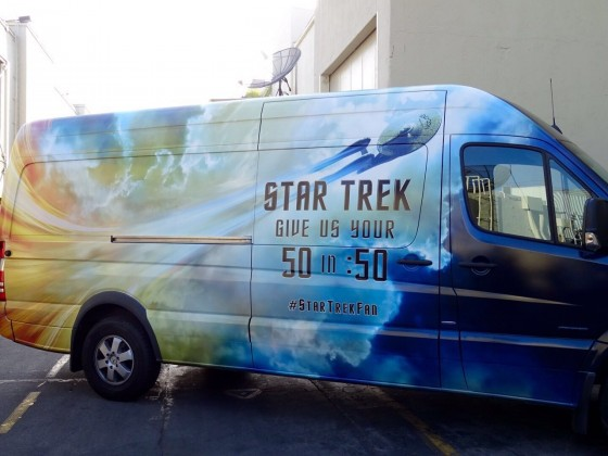 Star Trek Beyond Fan Event Van