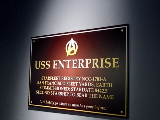 Star Trek Beyond Fan Event USS Enterprise Sign