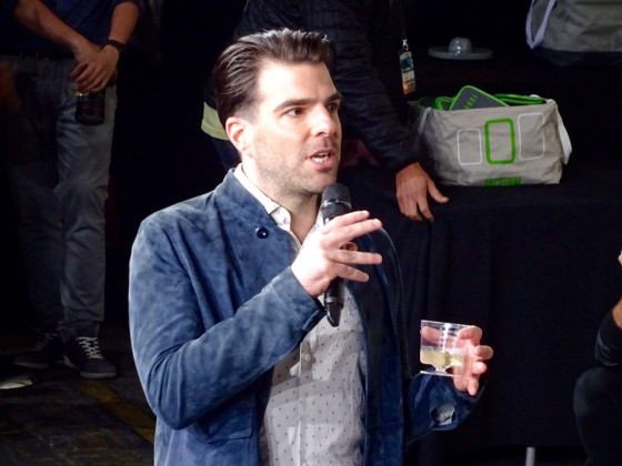 Star Trek Beyond Fan Event Zachary Quinto 2