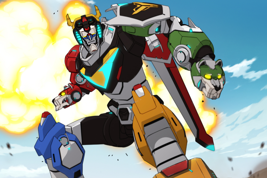 Netflix forms new Voltron trailer