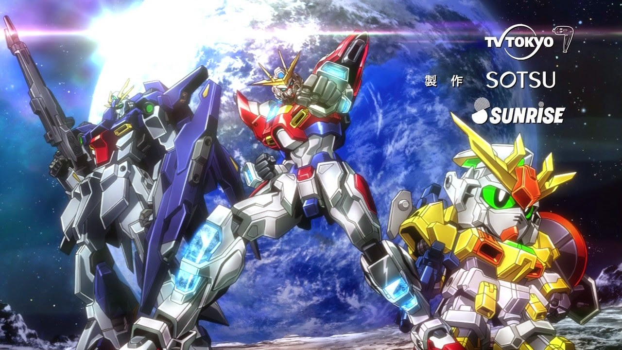 New gundam build fighters try footage and gunplas announced for Domon in gundam build fighters