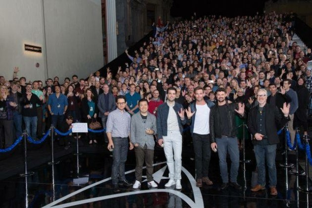 Star Trek Beyond and 50th anniversary Fan event group photo