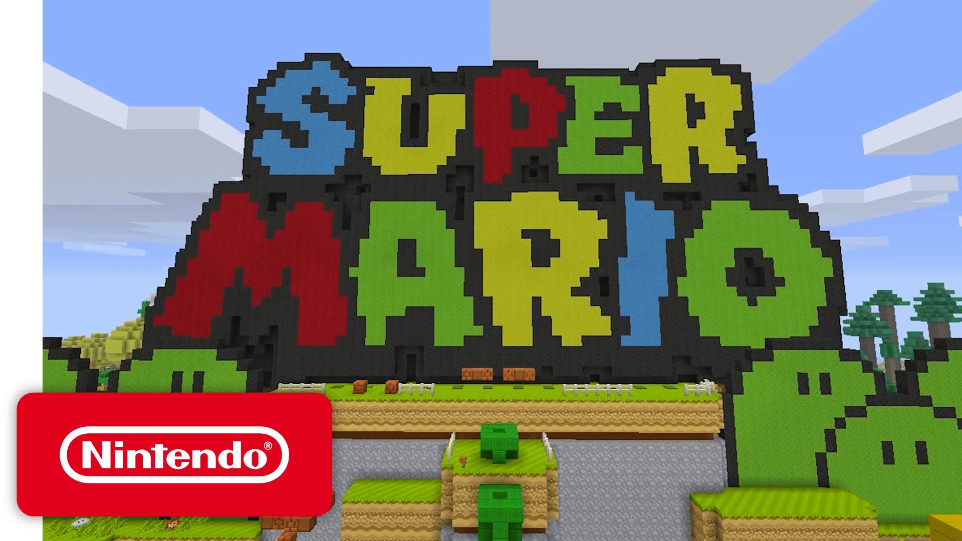 Super Mario Mashup Invades Minecraft Wii U Edition - Skins para minecraft wii u