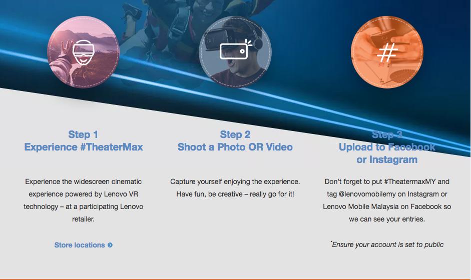 Lenovo TheaterMaxMy contest instructions