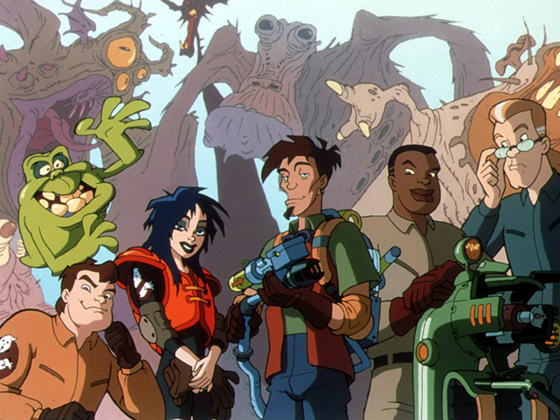 Extreme ghostbusters zone