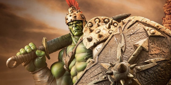 Sdcc 2016 Hulk S Gladiator Armor Spotted Among Thor Ragnarok Props Display