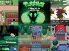 Fan made Pokemon Uranium game