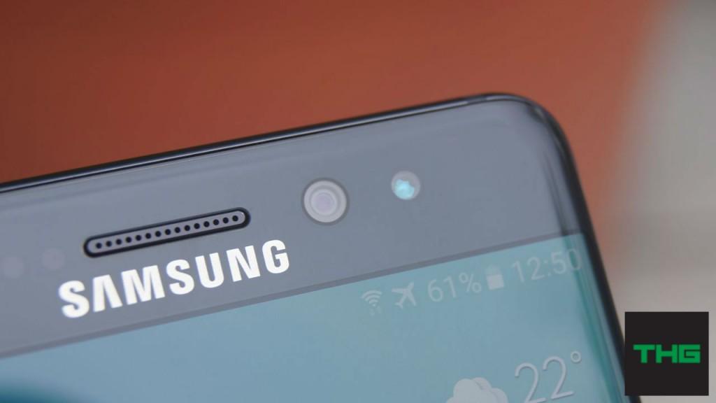 Samsung Galaxy Note7 Front camera