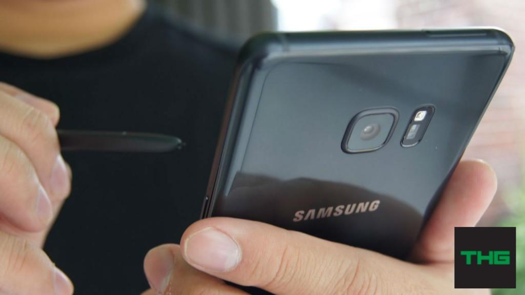 Samsung Galaxy Note7 back camera