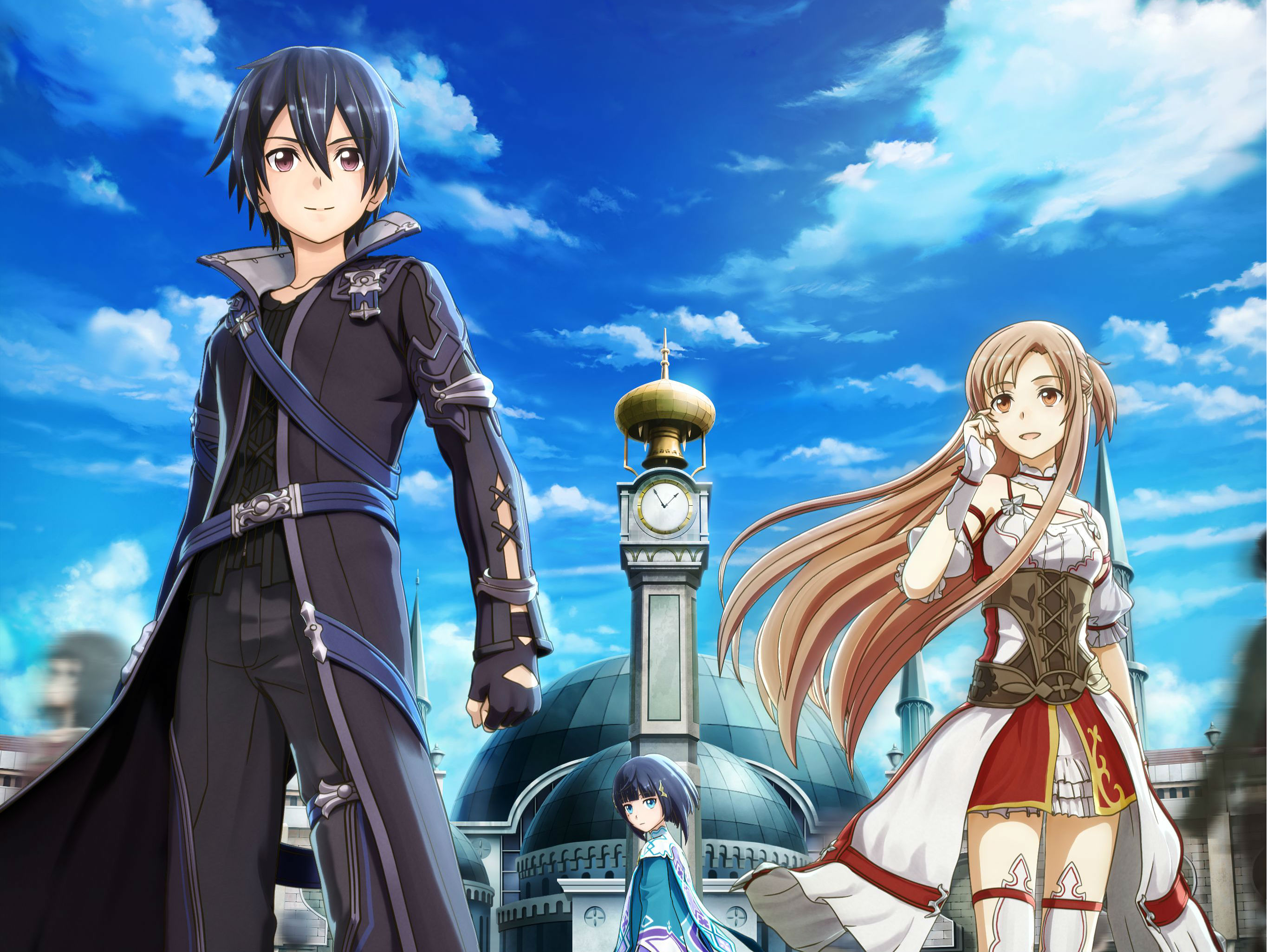 sword art online hollow realization is coming to sea on november 8. Black Bedroom Furniture Sets. Home Design Ideas