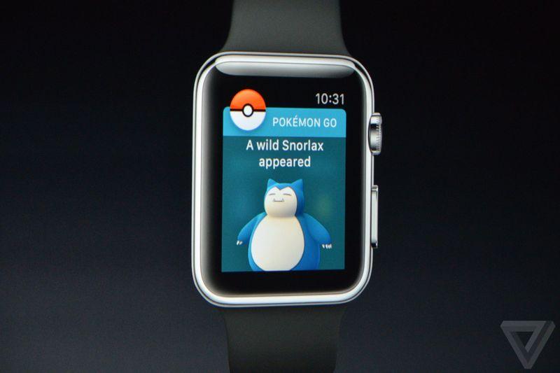 Apple Watch Pokemon Go