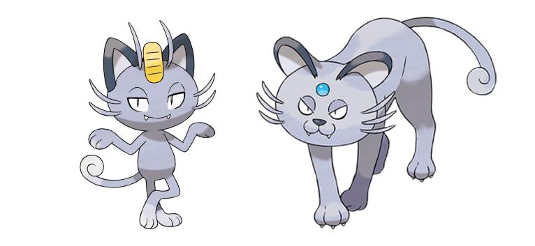 pokemon meowth persian