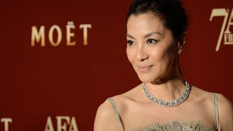 Michelle Yeoh coy about 'Star Trek' as Singapore festival opens