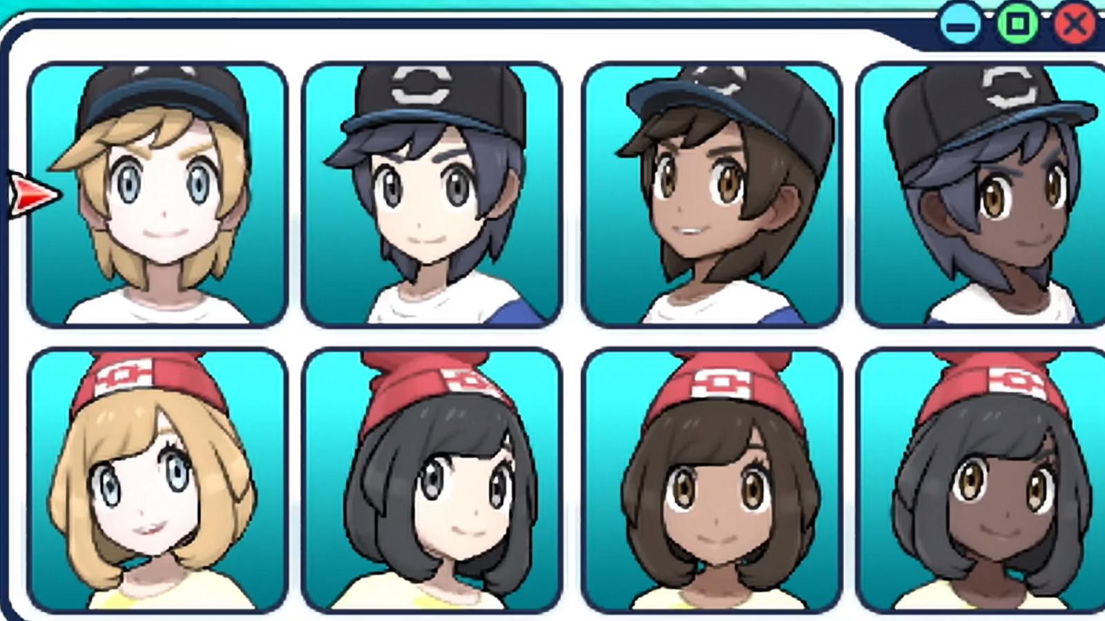 pokemon sun and moon customisation