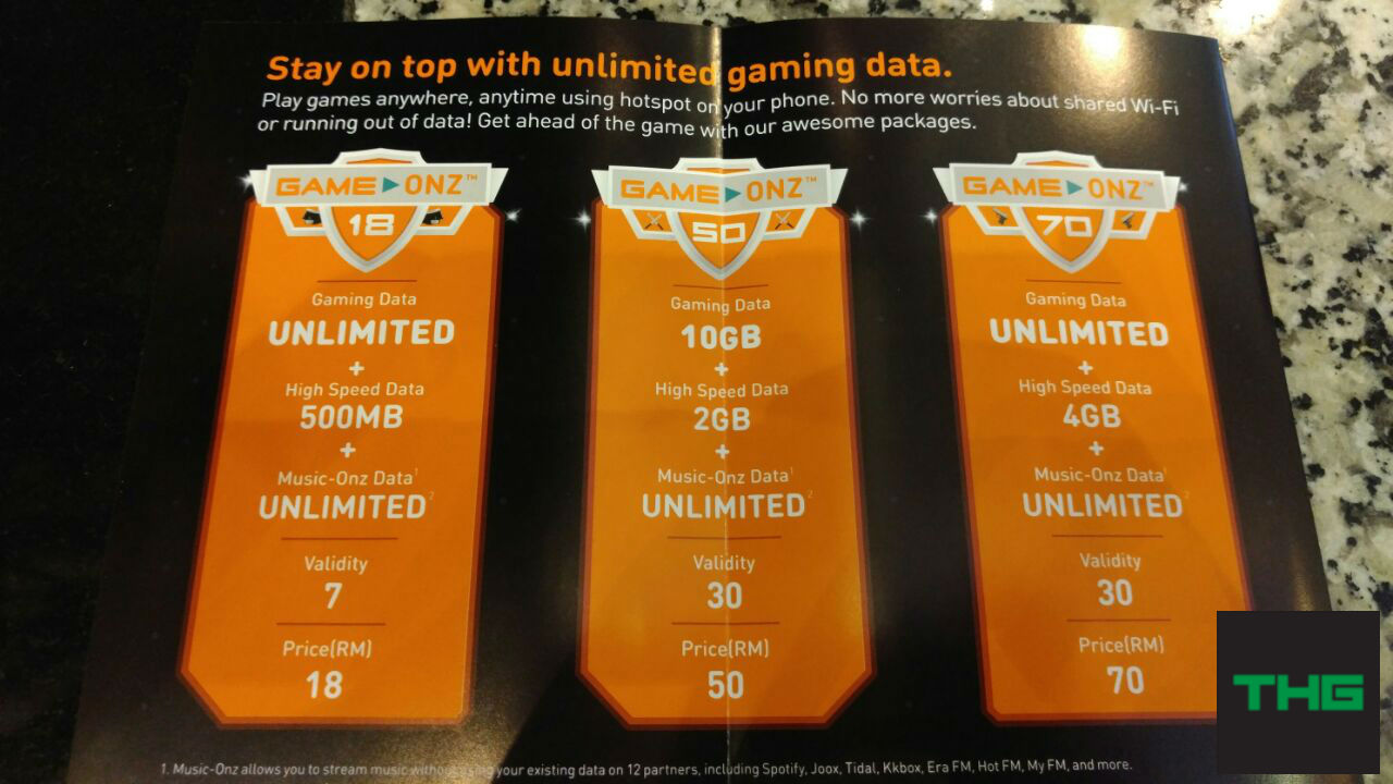 U Mobile Game Onz prices