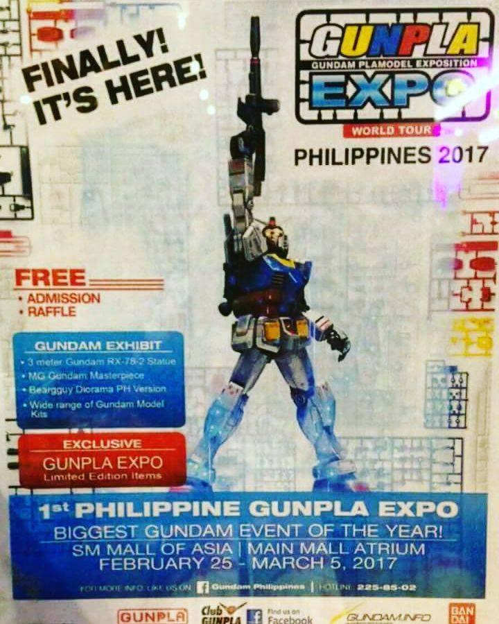 gunpla expo World Tour 2017 philippines