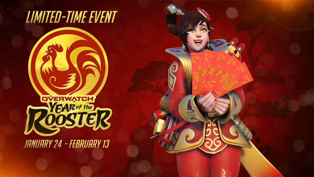 blizzards overwatch chinese new year - When Does The Chinese New Year End
